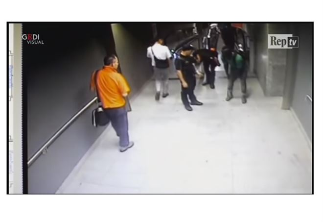 Un frame di quanto accaduto in Centrale martedì sera - Youtube