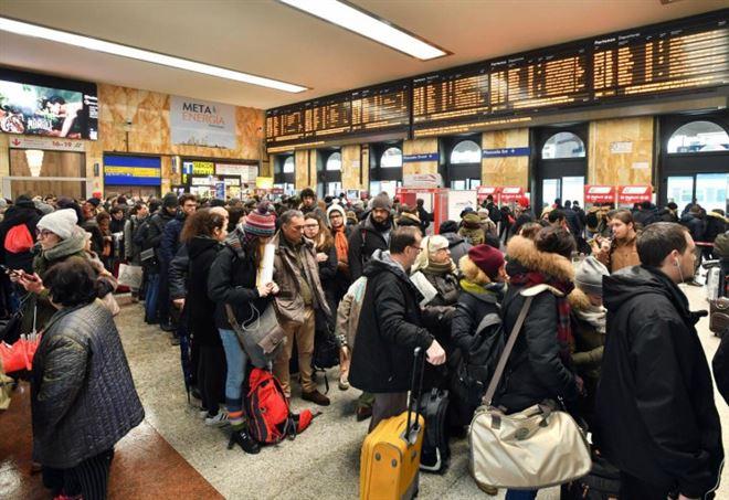 Sciopero treni oggi e domani |  26-27 maggio Trenitalia |  Italo |  Trenord  Ultime notizie |