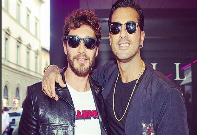 Stefano De Martino e Fabrizio Corona - Foto Instagram