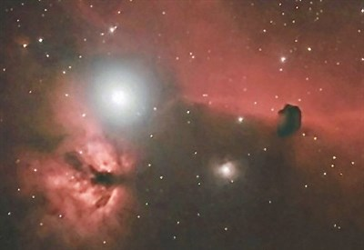 La nebuolosa del Cavallo (Foto dal web)