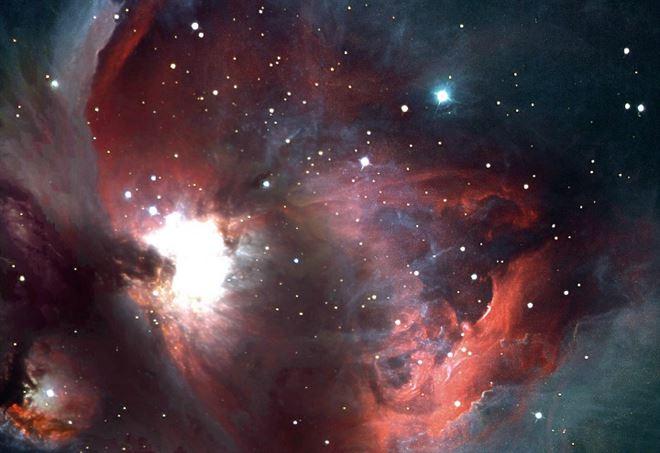 M42, nebulosa di Orione (Foto Osservatorio astronomico di Monteromano)