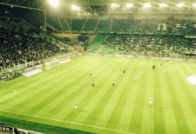 Lo stadio di Saint Etienne
