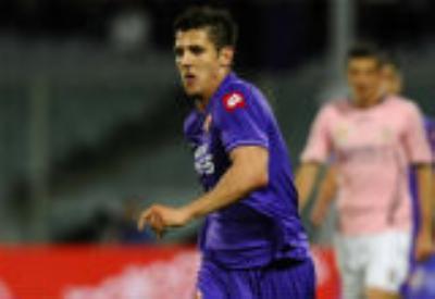 Stevan Jovetic, attaccante Fiorentina (Foto Ansa)