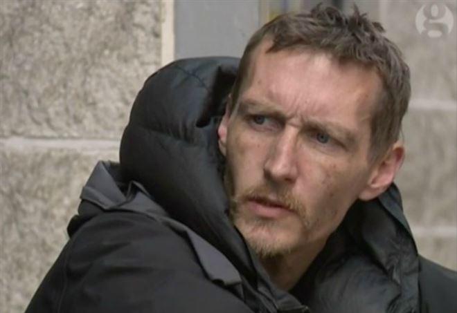 Steve, uno dei due senzatetto che ha soccorso i feriti