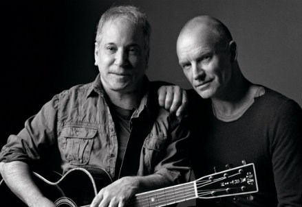 PAUL SIMON & STING/ On Stage Together, al Forum di Assago l'evento musicale dell'anno