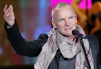 Sting in concerto (Infophoto)