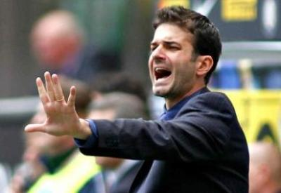 Andrea Stramaccioni, 17 punti in 9 partite come allenatore dell'Inter (Infophoto)