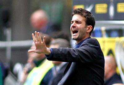 Andrea Stramaccioni, allenatore dell'Inter (Infophoto)