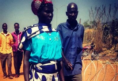 Sfollati a Juba