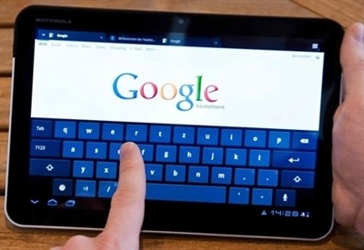 Google, leader dei motori di ricerca (infophoto)