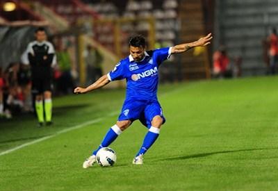 Francesco Tavano, 34 anni, attaccante dell'Empoli (INFOPHOTO)