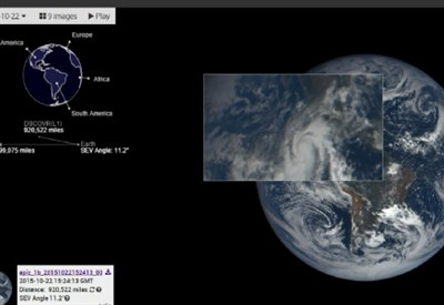 La Terra vista da EPIC
