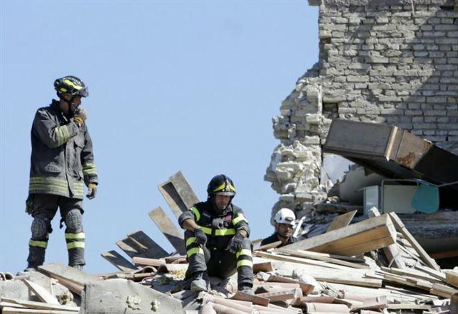 Terremoto oggi (LaPresse)