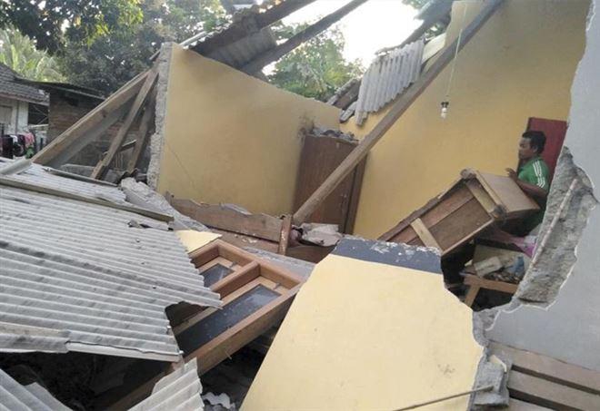 Terremoto Indonesia, 347 morti a Lombok
