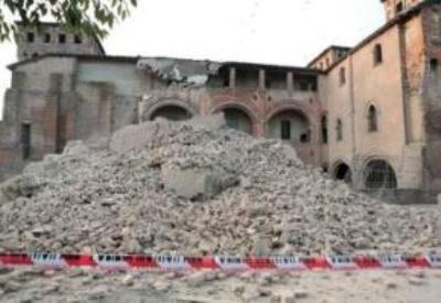 I danni del terremoto a Ferrara