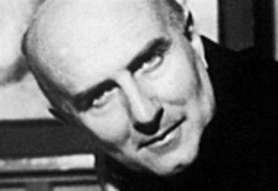 Giovanni Testori (1923-1993) (Immagine d'archivio)