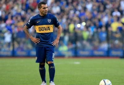 Carlos Tevez, 31 anni (INFOPHOTO)