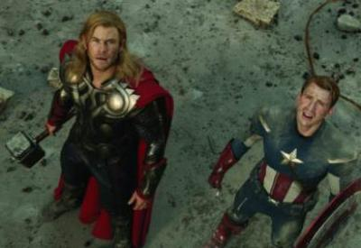 Una scena del film The Avengers