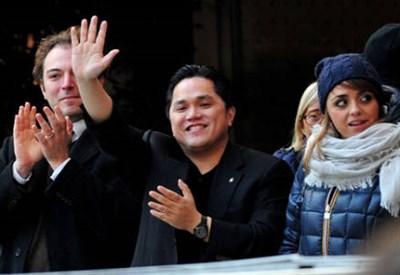 Erick Thohir, presidente Inter (Foto Infophoto)