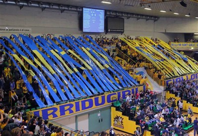 Il tifo del Modena Volley (dalla pagina Facebook ufficiale)