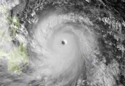 Il tifone Haiyan