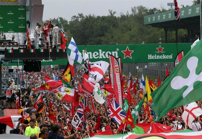 I tifosi del Monza - LaPresse