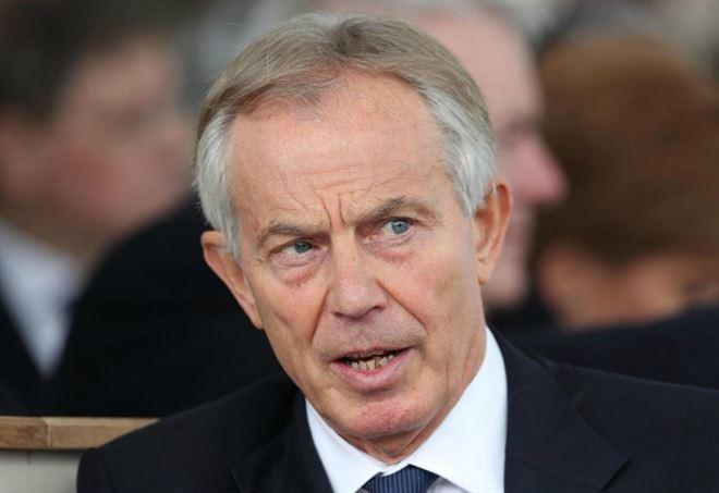 L'ex premier britannico Tony Blair (LaPresse)