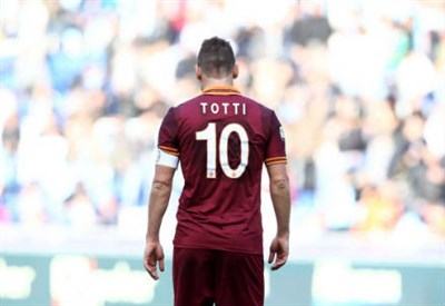 Totti (Fonte Infophoto)
