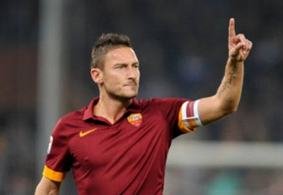 Totti (Fonte Infophoto)
