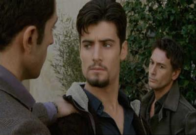 Matteo Monforte con i fratelli