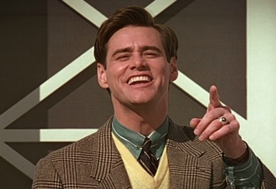 "Jim Carrey in ""The Truman Show"" (1998)"
