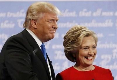 Donald Trump e Hillary Clinton (LaPresse)