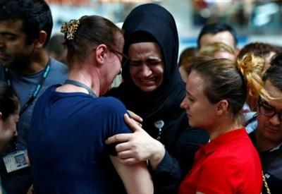 Istanbul, i funerali delle vittime dell'aeroporto (LaPresse)