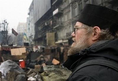 Mychailo Dymyd sul Majdan (Immagine dal web)