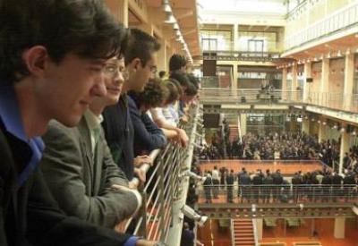 Studenti al Politecnico di Torino (InfoPhoto)
