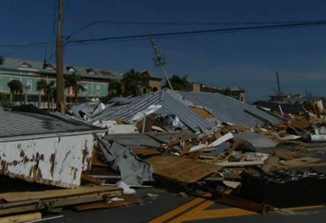 Uragano Michael: 7 vittime, 370mila sfollati
