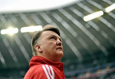 Van Gaal, allenatore United (Infophoto)