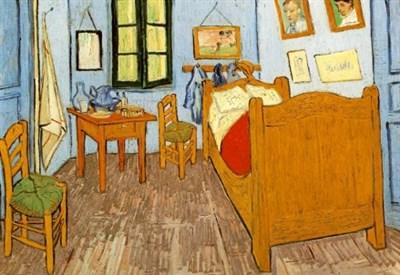 V. Van Gogh, Camera di Van Gogh ad Arles (1888)  (Immagine dal web)