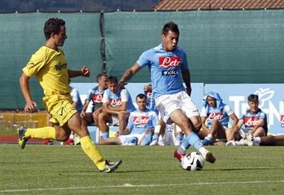 Edu Vargas ha segnato tre gol (Infophoto)