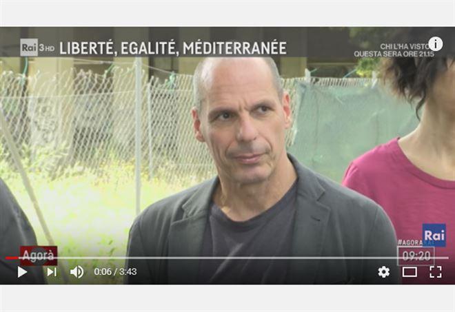 L'intervista di Varoufakis a L'Agorà - Youtube