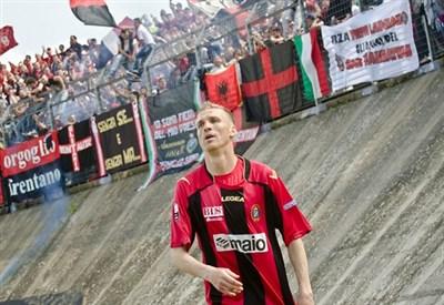 Gaetano Vastola, 35 anni, centrocampista del Lanciano (INFOPHOTO)