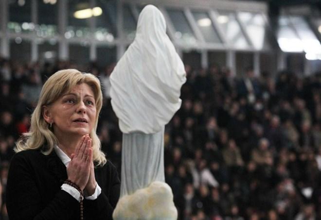 Messaggio Madonna di Medjugorje a Mirjana (LaPresse)