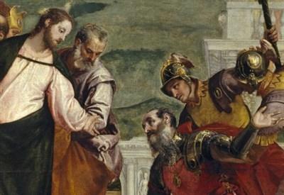 """Paolo """"Veronese"""" (1528-1588), Cristo e il centurione (Immagine dal web)"""