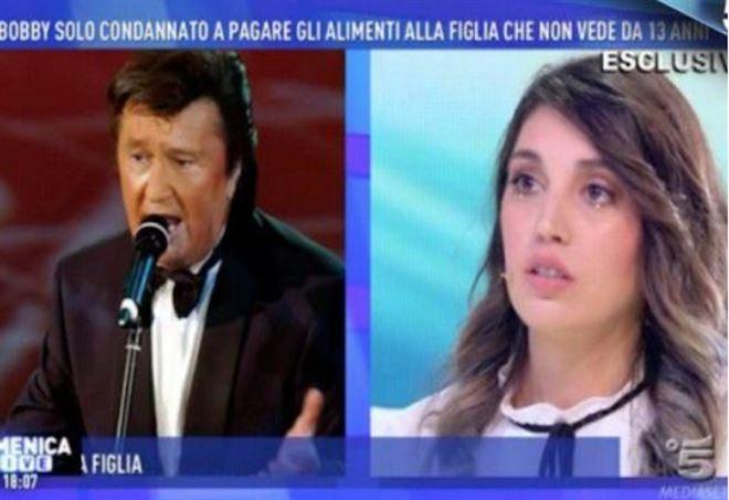 Veronica Satti, la figlia di Bobby Solo