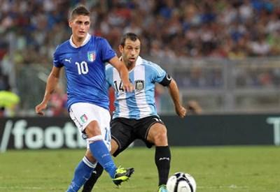 Marco Verratti, centrocampista del PSG (Infophoto)