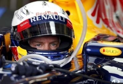 Sebastian Vettel è il padrone di casa ad Hockenheim (Infophoto)
