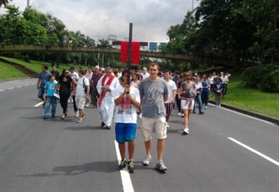 Via Crucis a Rio de Janeiro
