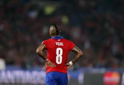 Arturo Vidal, 28 anni, cileno (INFOPHOTO)