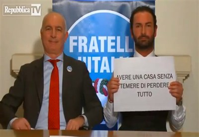 Pedrina e Zanon di Fratelli d'Italia