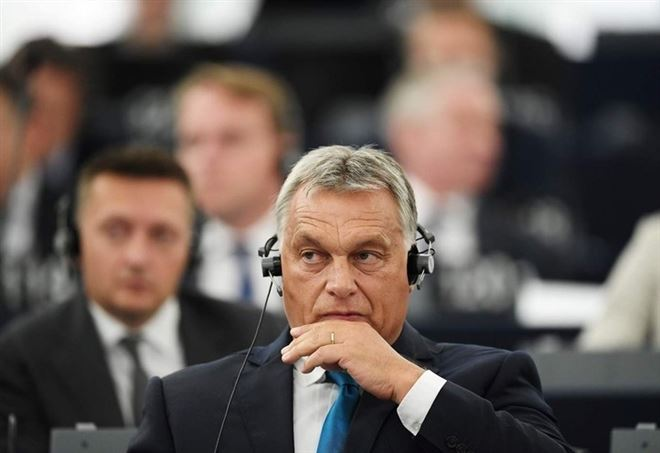 Viktor Orban, primo ministro dell'Ungheria (LaPresse)